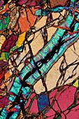 Serpentinized Peridotite, LM