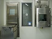 Biosafety Level 3 Training Laboratory Changing Room