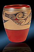 Polychrome Jar, Santa Clara Pueblo, 1957