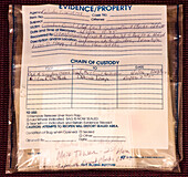Chain of Custody Evidence Container