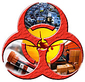 Biohazard Symbol Graphic