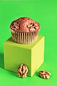 Walnut muffin