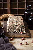 Ketogenic bread made from nuts and seeds