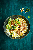 Beef Biryani with rice