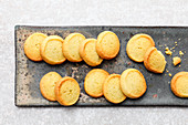 Lemon thyme and vanilla biscuits