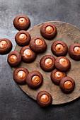 Nougat Husaren (shortbread biscuits)