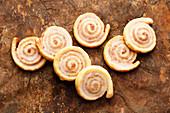 Cinnamon spiral biscuits