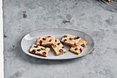 Sugar-free vegan gingerbread slices
