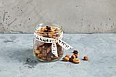 A sugar-free Christmas nut mixture