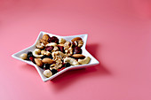 Assorted nuts and dried fruit