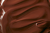 Melted couverture chocolate