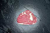 Irish beef dry-aged rib eye