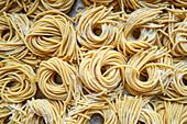 Fresh pasta nests