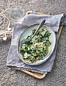 Ricotta-Spinat-Gnocchi (Toskana)