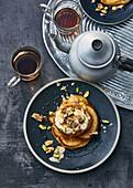 Baklava-style pancakes