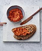 Oriental pepper paste