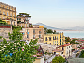 A view of Vomero, Naples, Campania, Italy