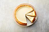 Cheesecake with an almond base (sugar-free)