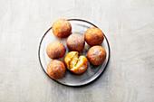 Quark doughnuts (sugar-free)