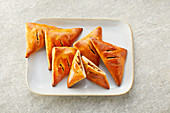 Apple turnovers (sugar-free)