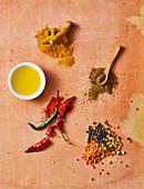 Top-5-Zutaten in der indischen Küche