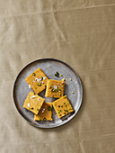 Indian chickpea and coconut sweets