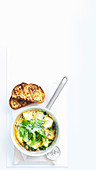 Quick Three-Cheese Frittata