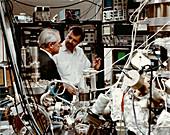 IBM scanning tunnelling microscopy lab