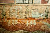 Hell, 18th century fresco