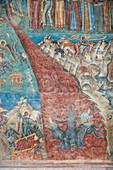 Fresco, Church of St. George, Voronet Monastery, Romania