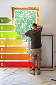 Replacement of a window and energy efficiency label