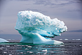 Icebergs off Detaille Island, Graham Land, Antarctica