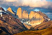 Sunrise, Torres del Paine National Park, Patagonia, Chile