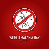 Malaria, conceptual illustration