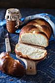 Challah bread (Jewish braid)