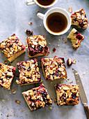 Cherry and almond cake (gluten-free)