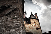 Burg Eltz, a vineyard in Rheingau, Germany