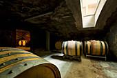 Barrique, Klaus-Peter Keller vineyard, Rhinehessen, Germany