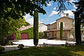 Main building, Bon Pasteur, Pomerol, France