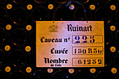 Sign, Champagne Ruinart, Reims, France