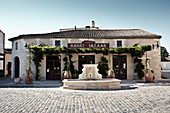 Village square, Chateau Lynch Bages, Pauillac, Bordeaux, France