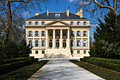 Main building, Chateau Margaux, Medoc, Bordeaux, France