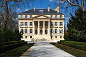 Gebäude, Château Margaux, Medoc, Bordeaux, Frankreich
