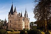 Castle and park, Ladoucette, Loire, France