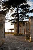 Gebäude, La Mondotte, Saint-Emilion, Bordeaux, Frankreich