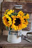 Strauß aus Sonnenblumen