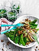 Super greens chicken salad