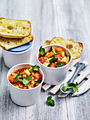 Chickpea and couscous vegie soup
