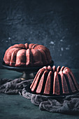 Two gluten-free bundt cakes