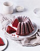 Glutenfreier Red Velvet Bundt Cake